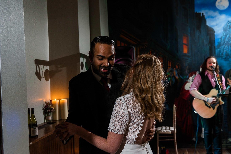 First Dance at Hotel Du Vin Edinburgh wedding