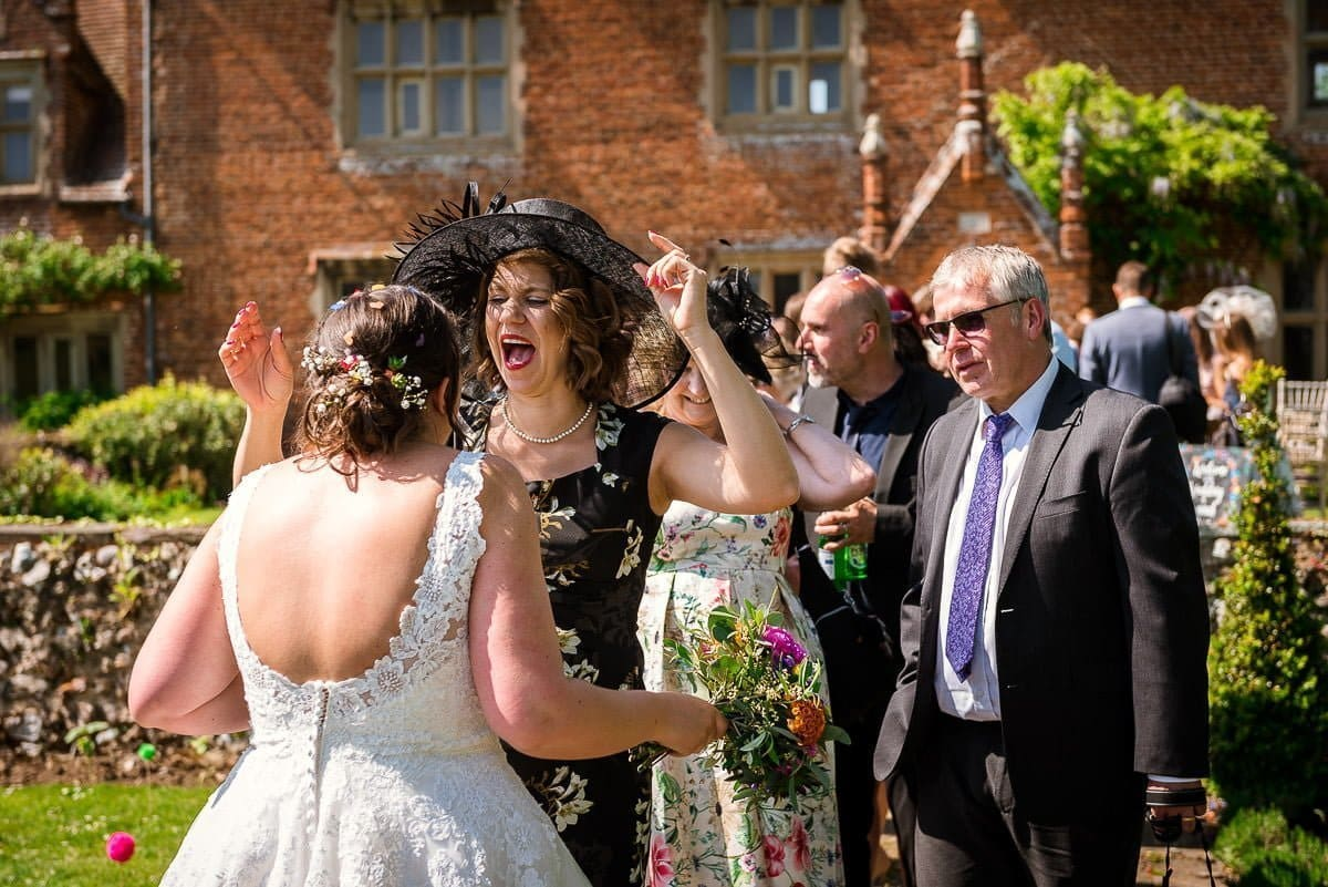 Wedding celebrations at Hautbois Hall
