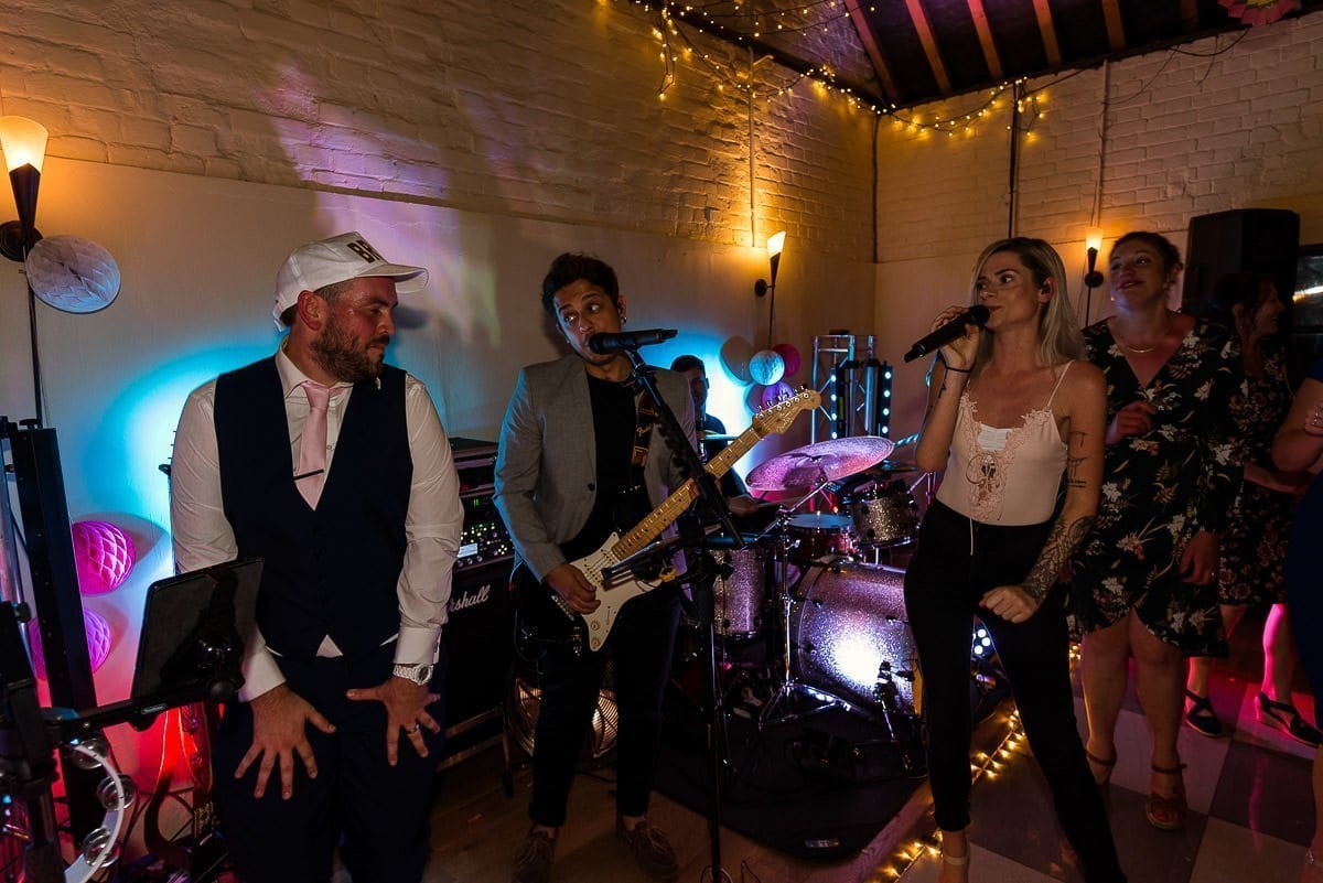 The Salvation Band at Hautbois Hall