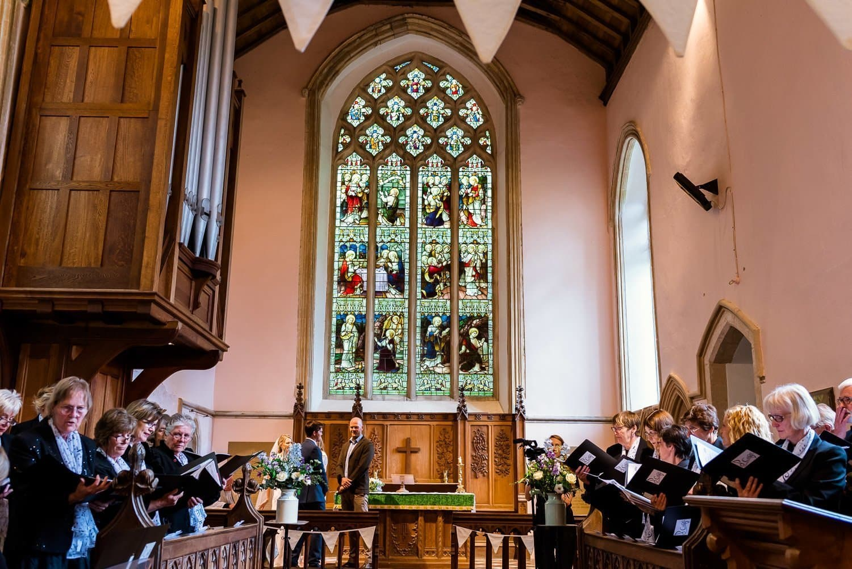 Hardingham Church wedding photography