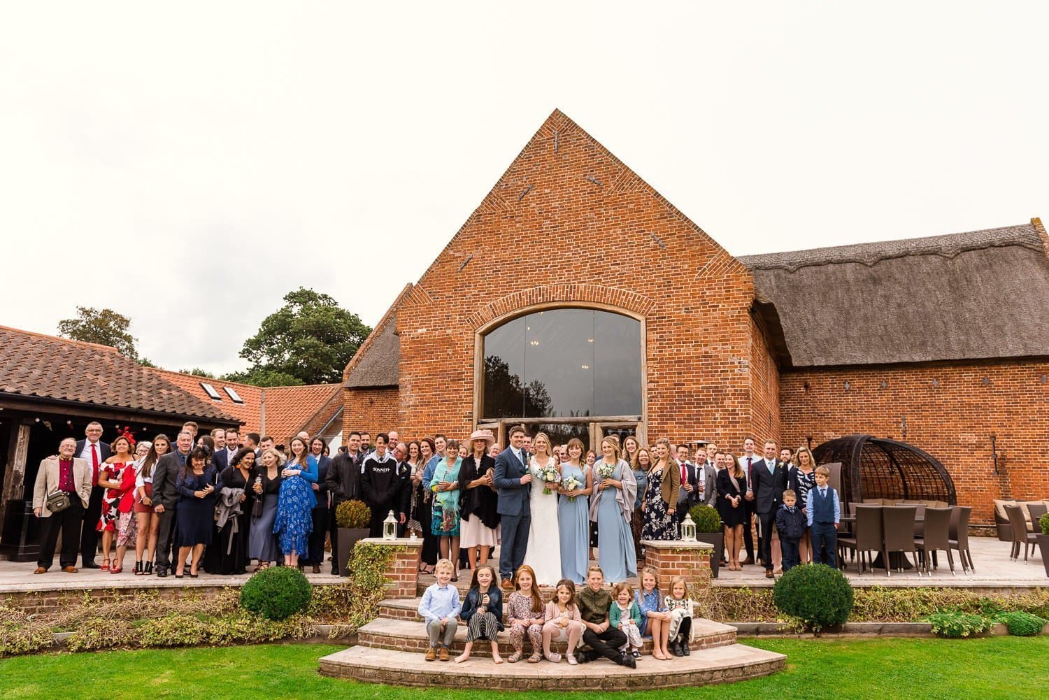 Family groups at Southwood Hall
