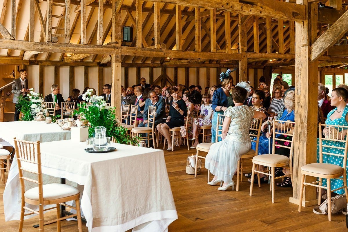 Blake Hall wedding barn