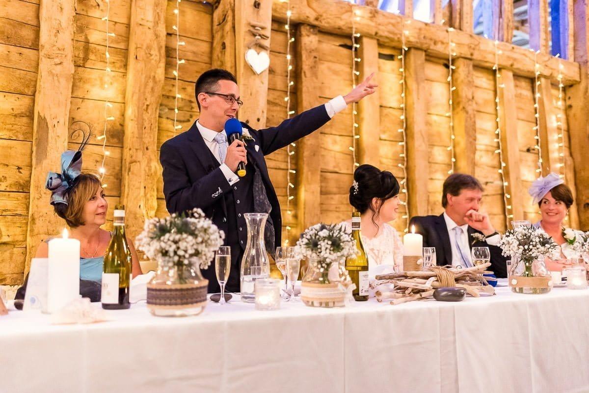 Wedding reception at Blake Hall