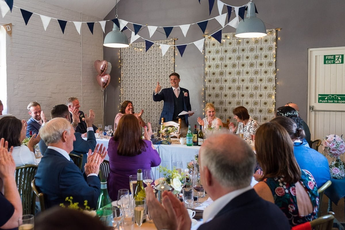 Mannington Hall Wedding Speeches