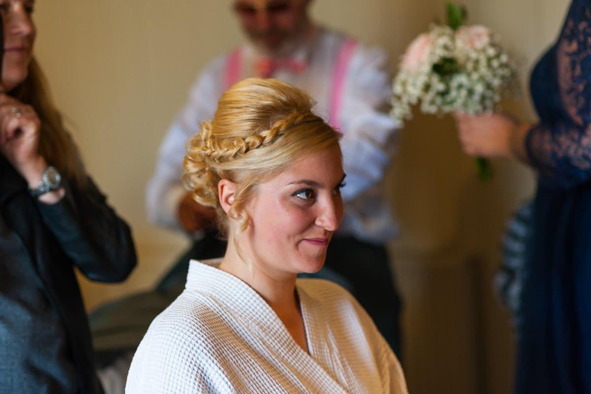 Bridal Prep at The Pigs Edgefield