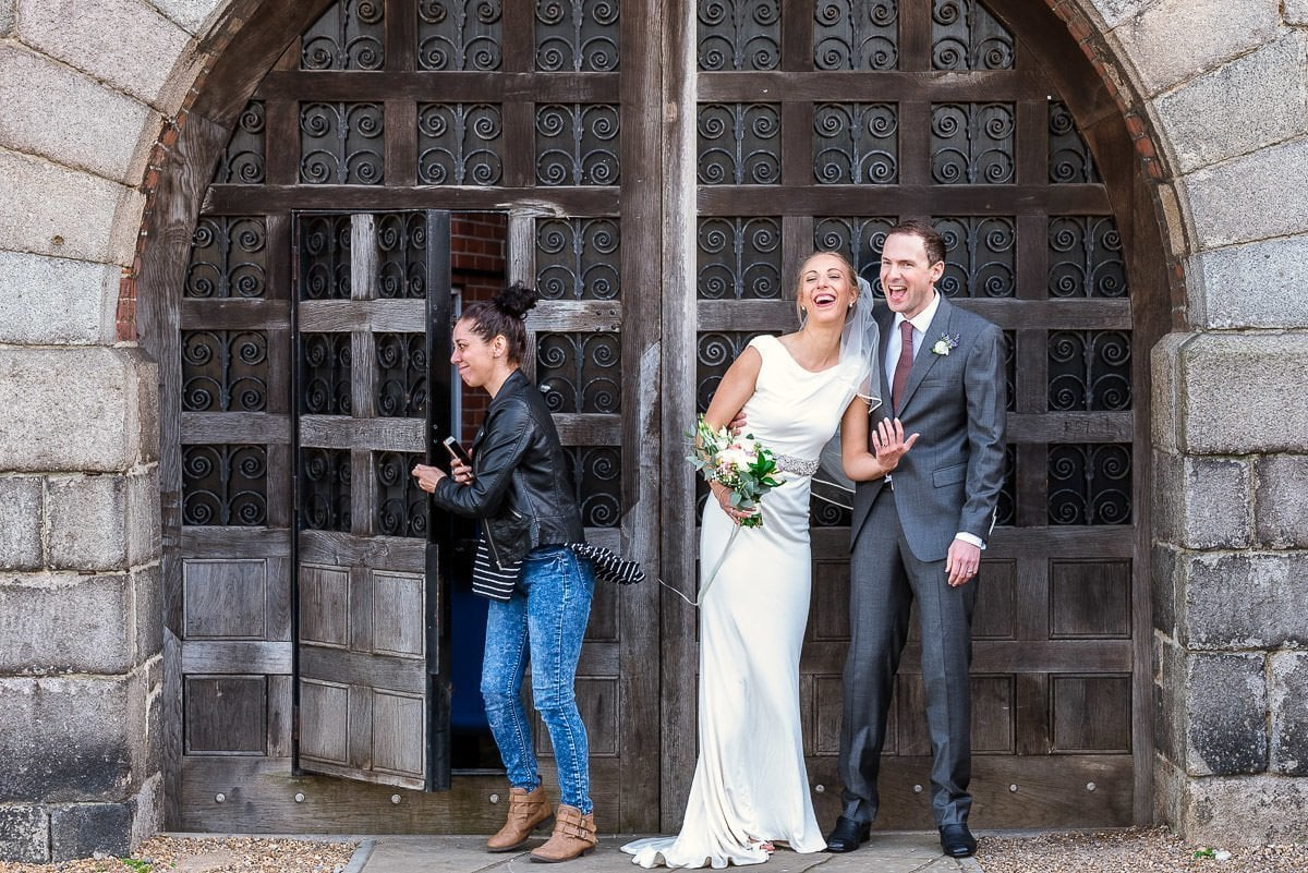 Norwich Castle wedding portraits