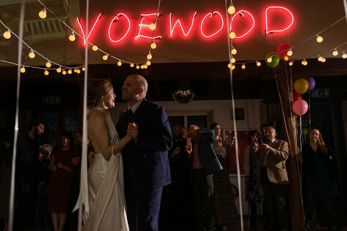 Voewoood Wedding First Dance
