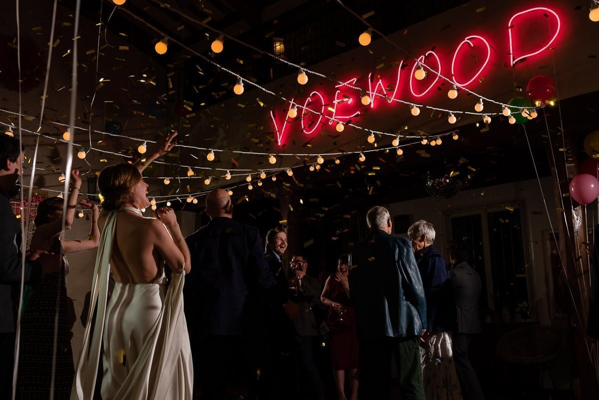 Voewoood Wedding Confetti Cannon