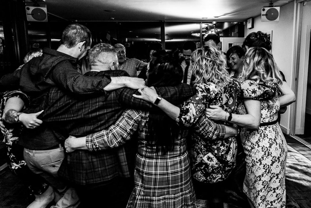 Norfolk Mead Hotel wedding reception photography
