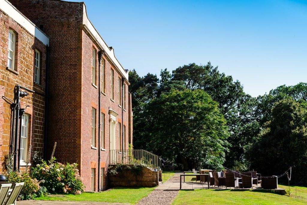 Mount Amelia wedding venue grounds