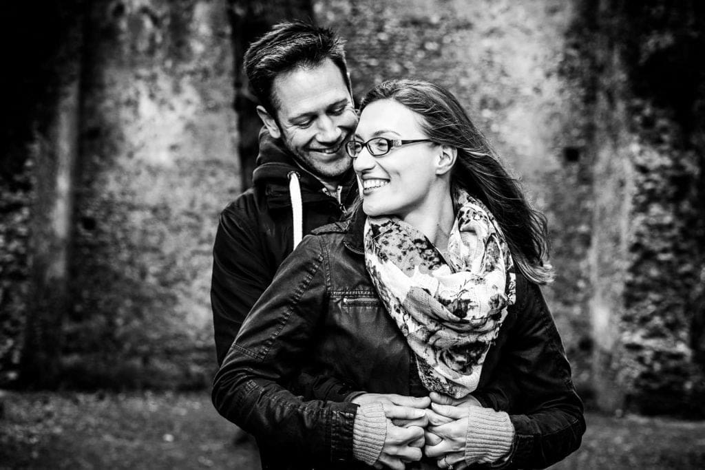 Couples in love engagement photography
