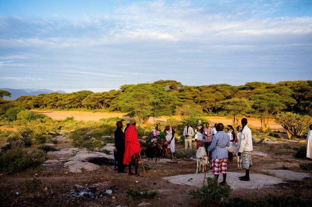 Samburu wedding offerings