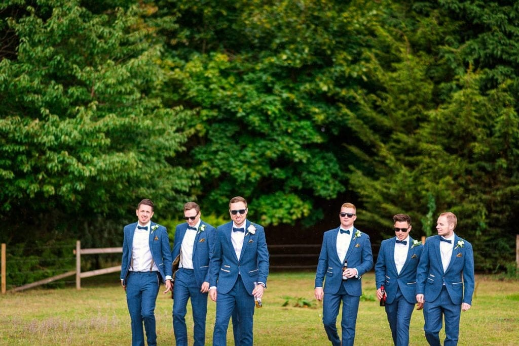 Groomsmen protraits at Manor Mews