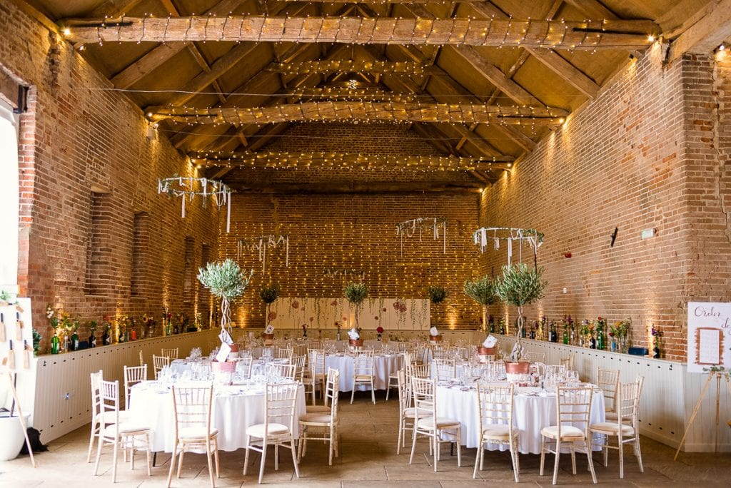 Beautifully decorated Great Barn at Manor Mews