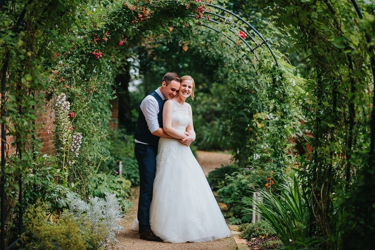 Newlywed portraits at The Reading Room Wedding venue